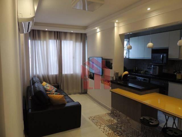 Apartamento com 1 dormitório à venda, 50 m² por R$ 262.000,00 - Itararé - São Vicente/SP