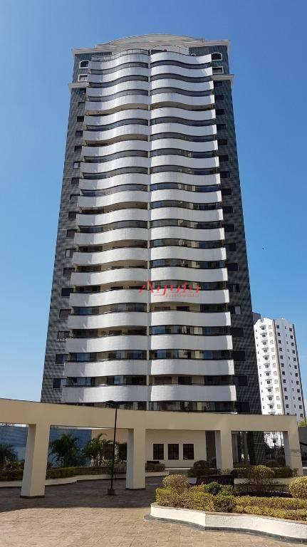 Apartamento com 3 dormitórios à venda, 141 m² por R$ 925.000 - Centro - Santo André/SP