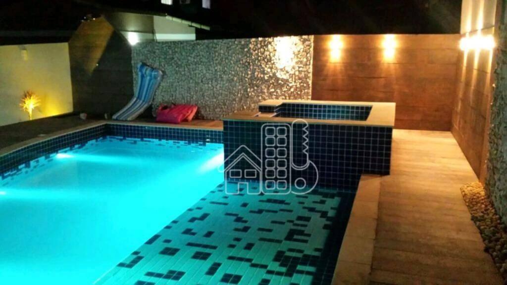 Casa com 4 dormitórios à venda, 260 m² por R$ 724.500,00 - Flamengo - Maricá/RJ