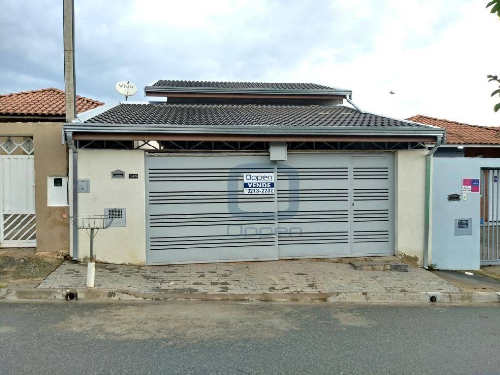 Linda casa com 3 dormitórios à venda, 126 m² por R$ 265.000 - Residencial Campina Verde - Campinas/SP