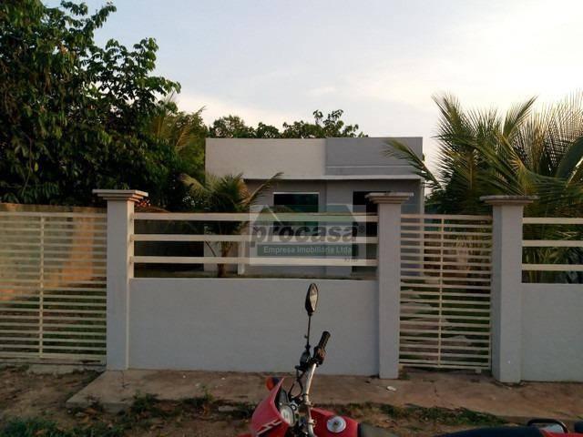 Casa com 2 dormitórios à venda, 200 m² por R$ 80.000,00 - Nova Manaquiri - Manaquiri/AM