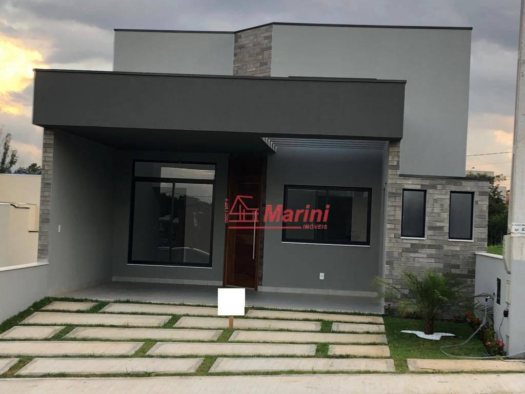 Casa com 3 dormitórios, 1 Suite Área Gourmet à venda, 105 m² por R$ 490.000 - Condomínio Village Moutonnée - Salto/SP