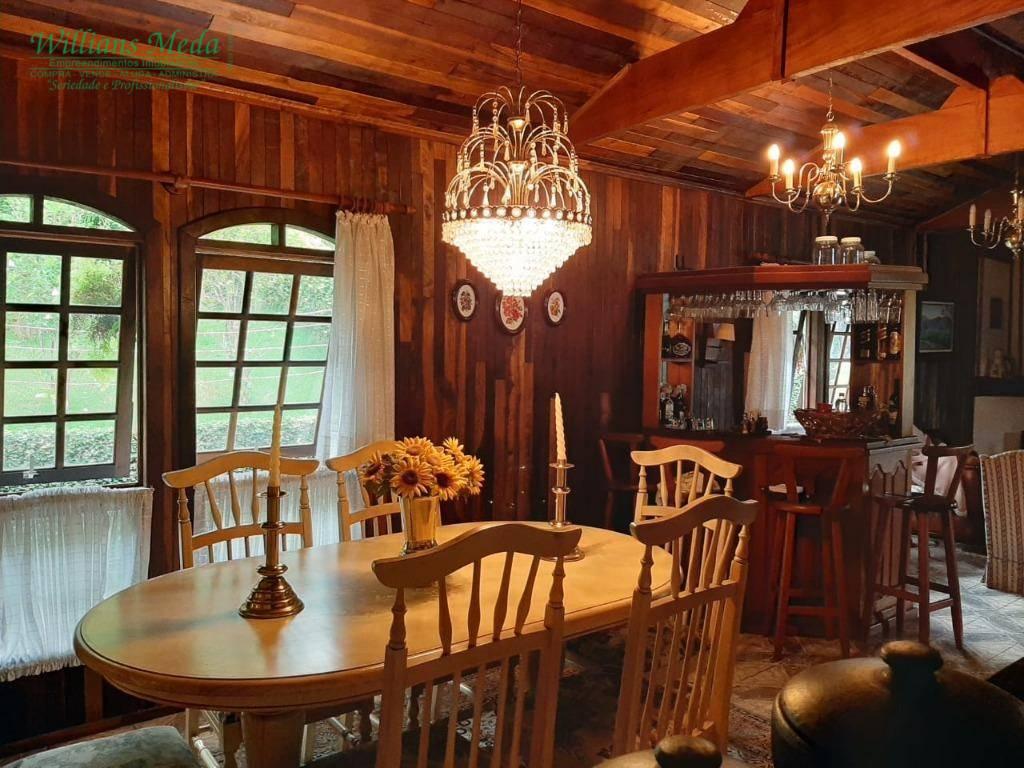 Chácara com 4 dormitórios à venda, 3450 m² por R$ 1.300.000 - Vista Alegre - Arujá/SP