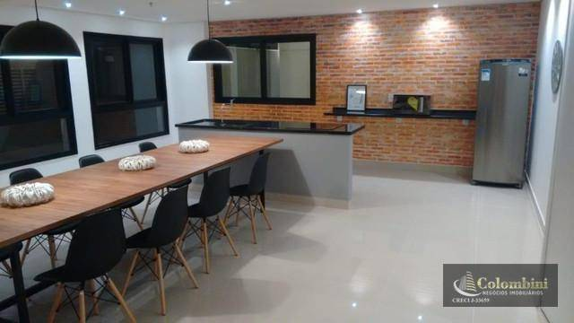 Studio com 1 dormitório para alugar, 42 m² - Santa Paula - São Caetano do Sul/SP