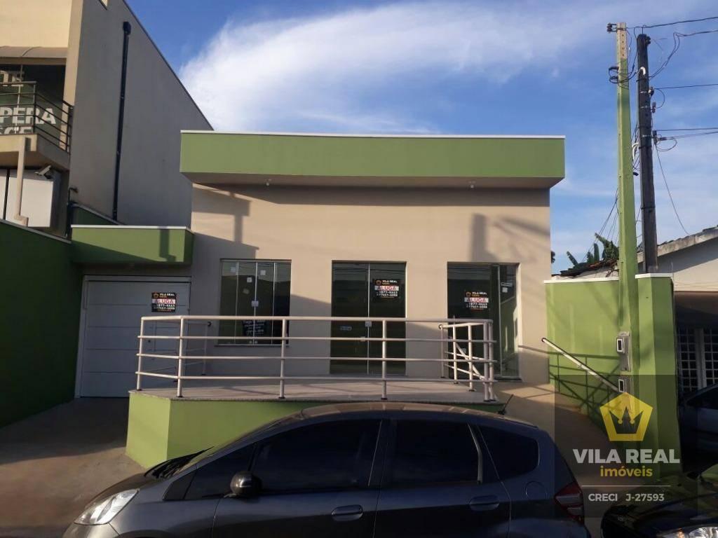 Salão comercial para locação, Centro, Artur Nogueira - SL0004.