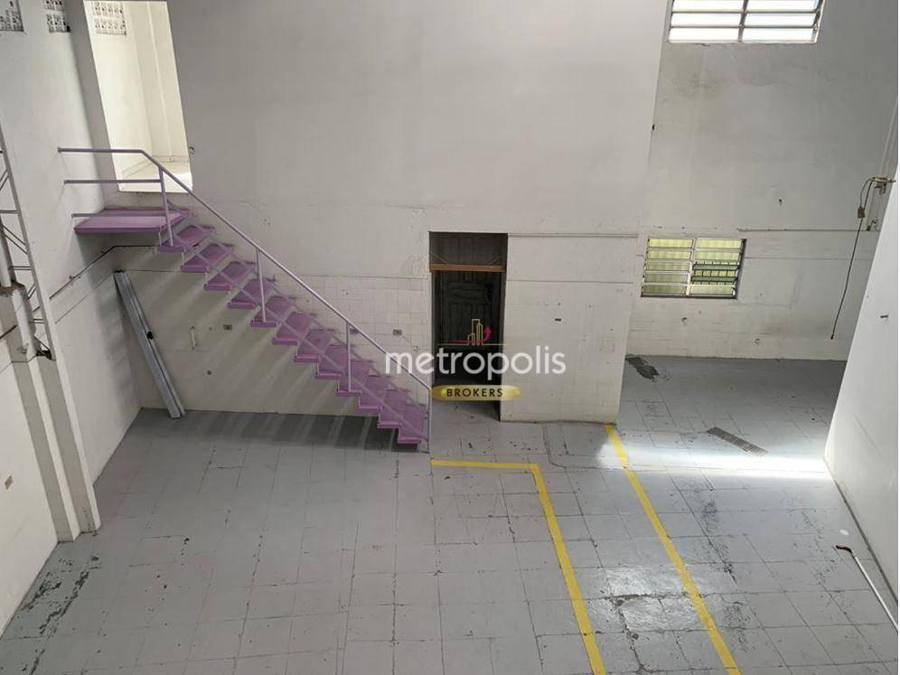 Galpão para alugar, 308 m² por R$ 10.000,00/mês - Vila Marlene - São Bernardo do Campo/SP