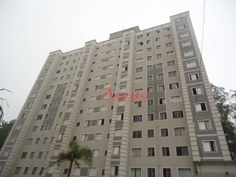 Apartamento com 2 dormitórios à venda, 45 m² por R$ 199.000 - Parque São Vicente - Mauá/SP