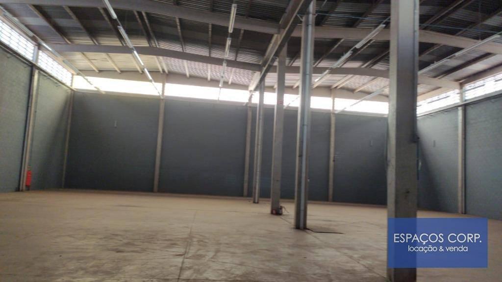 Galpão para alugar, 1280m² - Loteamento Empresarial Tatuí-I - Tatuí/SP