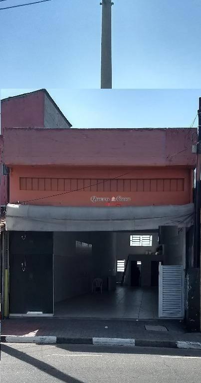 Salão comercial para locação, Jardim Santa Cecília, Guarulho