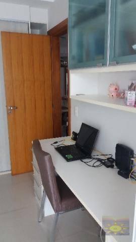 Aparamento 03 Qtos + Suíte e Closet,  110m² , Andar Alto,  Vista Mar, Itapuã, Vila Velha