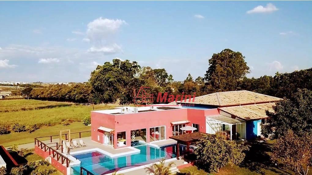 Casa Alto Padrão Terreno 20.000 m2 - 8 dormitórios à venda, 1850 m² por R$ 3.200.000 - Condomínio Santa Filomena - Salto/SP
