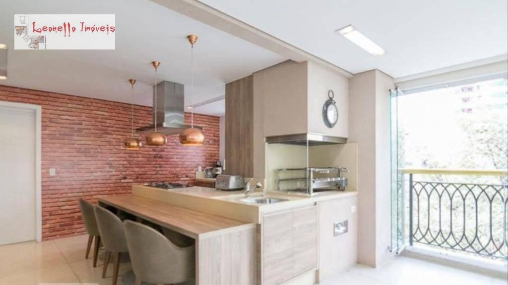 Apartamento com 5 suites à venda, 290 m² por R$ 2.800.000 - Jardim - Santo André/SP