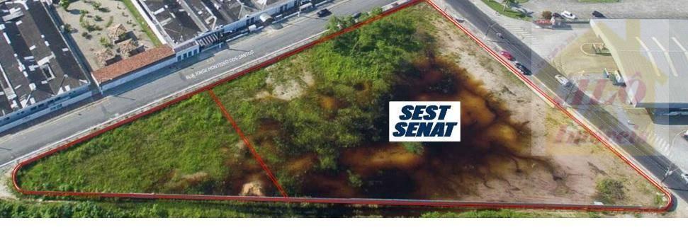 Terreno à venda, 1311 m² por R$ 3.100.000 - Vila Mirim - Praia Grande/SP