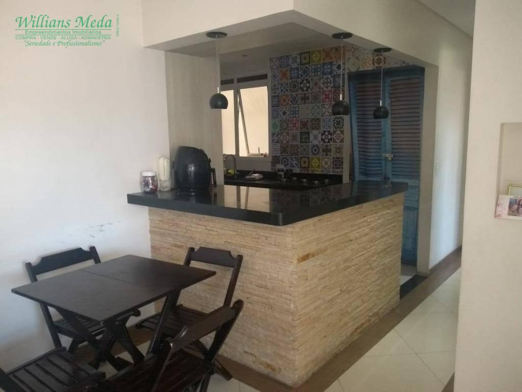 Apartamento com 3 dormitórios à venda, 88 m² por R$ 550.000 - Vila Galvão - Guarulhos/SP