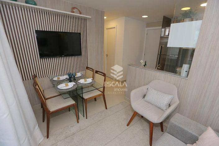 Apartamento com 2 quartos à venda, 48 m², novo,1 vaga, área de lazer, financia - Fátima - Fortaleza/CE