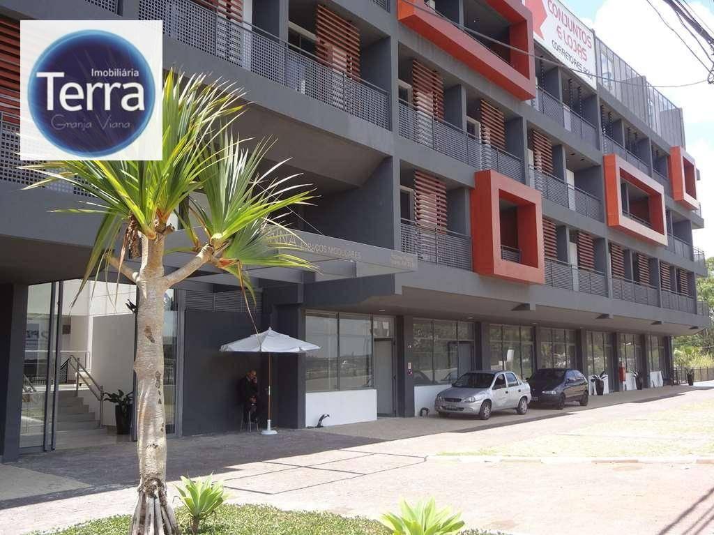 Sala à venda, 40 m² por R$ 295.000 - Vianna Espaços Modulares - Granja Viana.