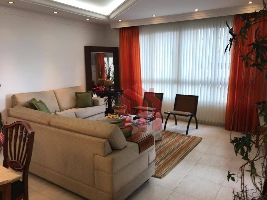 Apartamento 209m2 com 3 dormitórios, sendo 3 suites no Embaré