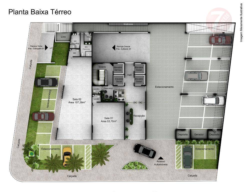 Sala comercial à venda, Jardim Luna, João Pessoa - SA0022.