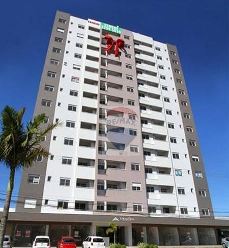 Apartamento Residencial à venda, Barreiros, São José 67m²